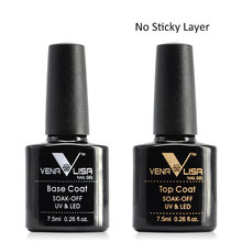 UV Gel Base Coat Topcoat 7.5ml 61508ac First Step Clear Foundation Gel Suit for all CANNI UV LED Nail Gel Polish Paint Color Gel