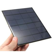 BUHESHUI 3.5W 6V Min Solar Cell Solar Panel Module DIY Solar Charger System 165*135MM Epoxy Wholesale 100pcs/lot  High Quality
