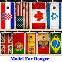 Soft TPU Silicon Phone Cases Cover For Doogee X5 Max X5 Max Pro Doogee X5S 5.0 inch Covers Phone Back UK Russia Flag Bags Shell