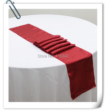 "BIG DISCOUNT  Retail 100pcs Satin Table Runner 12"" x 108"" Wedding Decor Wholesale FREE SHIPPING"
