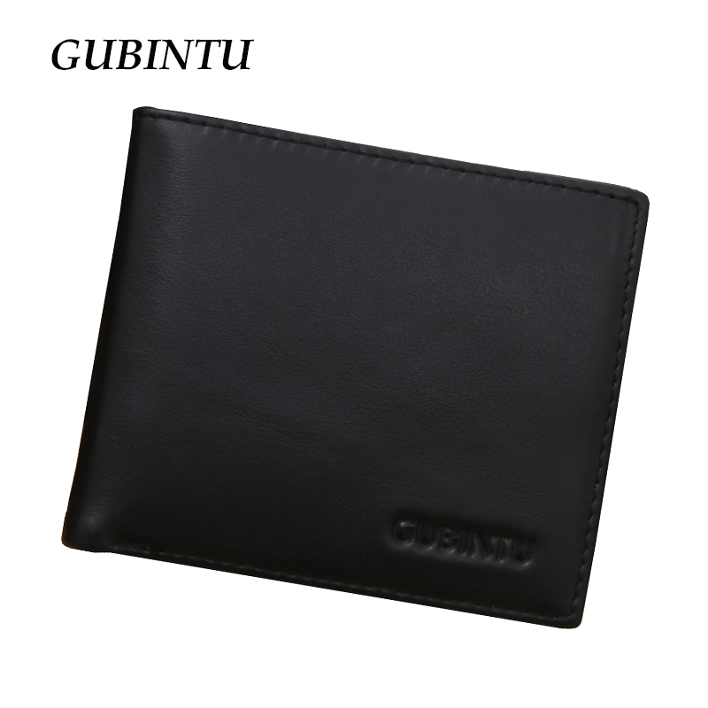 RFID Blocking Wallet ID identity credit card blocking genuine leather wallet with flip up ID window slim black men wallets<br><br>Aliexpress