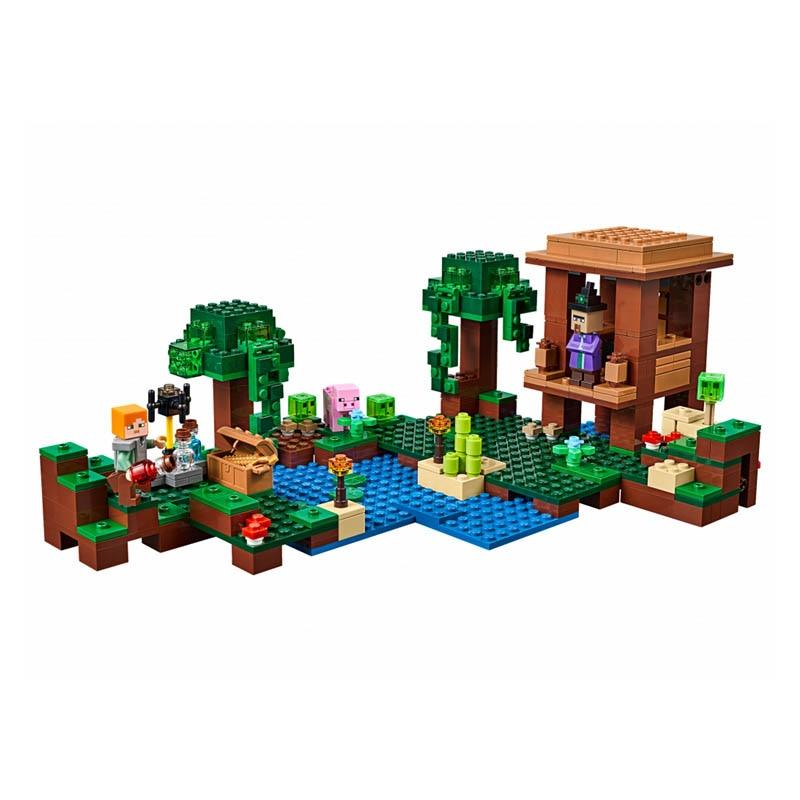 Pogo Lepin Minecrafte My World Zombies Building Blocks Bricks Toys Compatible Legoe<br>