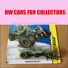 Buy Toy cars Hot Wheels 1:64 Mountain Mauler Car Models Metal Diecast Cars Collection Kids Toys Vehicle Children Juguetes for $4.46 in AliExpress store