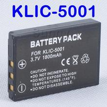Lithium-Ion Rechargeable Battery Pack KLIC-5001 for Kodak Easyshare Z730,Z760,Z7590,DX6490,DX7440, P850,P880,P712 Digital Camera