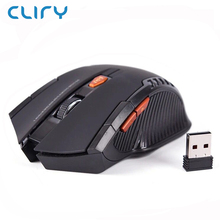 Cliry Best Seller 2.4G Wireless Optical Mouse 1600DPI 6D computer pc peripherals Mini Mice Laptop Desktop home use work gaming(China)