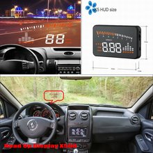 Car Computer Screen Display Projector Refkecting Windshield For Renault Duster - Safe Driving Screen