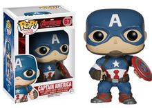 Funko POP Marvel Avengers 2: Captain America Figure Model with gift box 10pcs