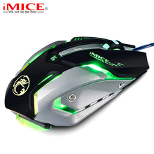 Professional Macro Custom Wired Gaming Mouse 4000DPI Game Optical USB Computer Mouse Gamer Cable Mice for PC Laptop for CSGO