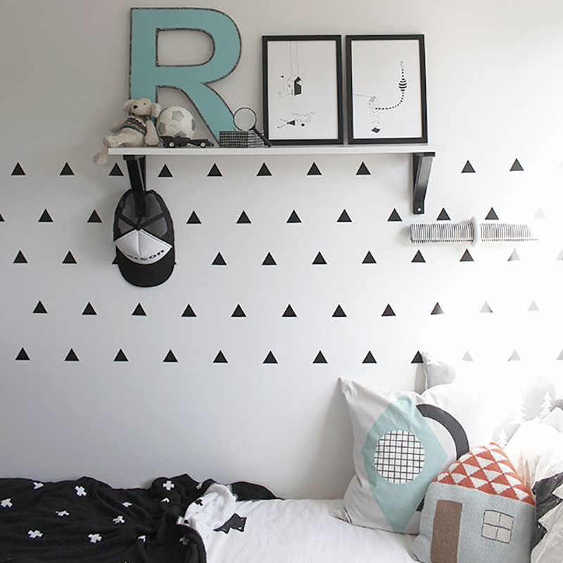 Detail Feedback Questions about Baby Boy Room Triangles Kids Bedroom ...