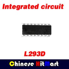 30pcs/lot Good quality New L293D integrated LED driver circuit  L293 DIP wholesale and retail free shipping #J137-1