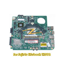 DA0FJ8MB6F0 for Fujitsu lifebook LH532 laptop motherboard hm76 GPU GT620M ddr3(China)