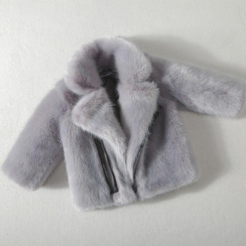 UNINICE Winter Warm Boys Fur Coats 2017 Fashion Children Faux Fur Coat For Baby Boys Zipper Jackets Toddler Kids Fur Outerwear<br>