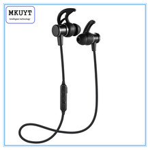 Buy MKUYT Wireless Bluetooth Headphone Magnet Sport headset Ear Hook Earphone Subwoofer Headphones iPhone Samsung HUAWEI for $15.99 in AliExpress store