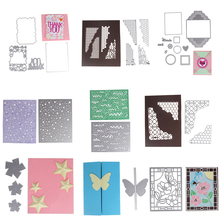 30 patterns New Customized Steel Metal Die Cutting Dies Scrapbooking Embossing Dies Cut Stencils DIY Decorative Cards Embossing(China)