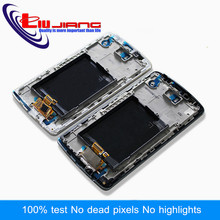 Liujiang Original quality LCD For LG G3 D850 D855 Display Touch Screen Digitizer with Frame Assembly(China)