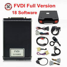 2017 DHL Free FVDI 2014 2015 Version FVDI Full Version (Including 18 Software) ABRITES Commander FVDI For Most Cars Best price(China)