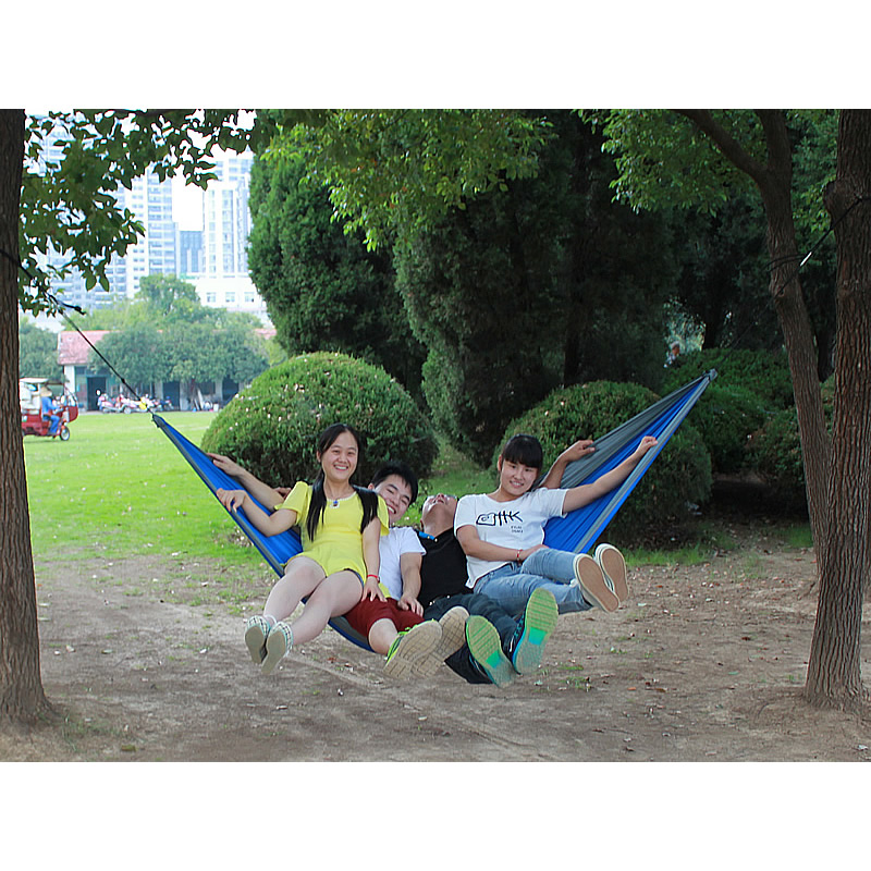 Goodwin Outdoor Indoor Single Adult Children Double Leisure Travel Travel The Wild Swing Beds Nylon Thickened<br><br>Aliexpress