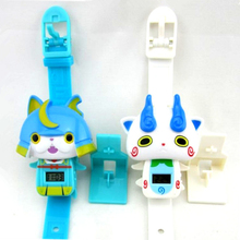 1 pcs Anime Yokai Electronic time watch simple toys for Baby kids children Christmas Halloween gifts