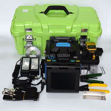 TB-80H French/Portuguese/Spanish/English/Italian Automatic Fiber Optic Splicing Machine Optical Fusion Splicer