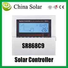 Split and pressurized solar heating system Controller,SR868C9,Solar Auxiliary heating system control