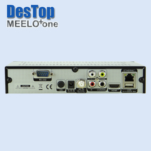 Hot x solo mini 2 Satellite Receiver 750 DMIPS Processor Linux Operating System DVB-S2 MEELO one Support YouTube Cccam STB 2pc