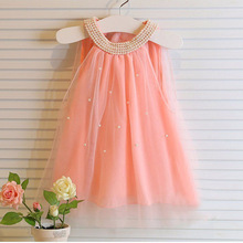 bbay Girls dresses summer children clothes fashion hot selling nova kids wear lace baby girls frocks clothes 2017 new princess(China)