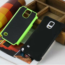 Football Pattern Rubber Hybrid Heavy Duty ballistic Impact Rugged Shockproof Case Cover For Samsung Note 4 N9100 Armor Case(China)