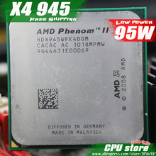 AMD Phenom II  X4 945 CPU Processor Quad-Core (3.0Ghz/ 6M /95W )Socket AM3 AM2+ 938 pin (working 100% Free Shipping)