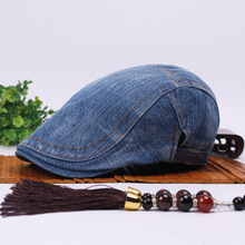 Brand New High Quality Baseball Caps Fashion Denim Retro Men and women Cap Beret Hat Trend Fashion Summer Big