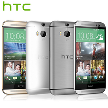 Verizon Version HTC One M8 Mobile Phone Quad Core 2GB RAM 32GB ROM 5.0 inch 1920x1080P 3 Camera 2600mAh Android Smart Phone