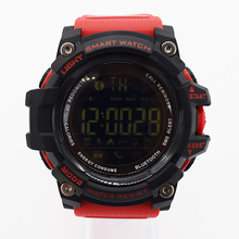 red waterproof wrist digital watches for men digitais watch running mens man digitales clock military popular creative students
