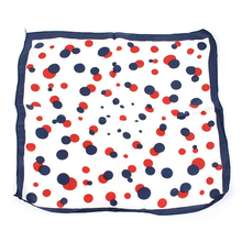 BFYL Red Dots Printed Square Shaped Neck Scarf Kerchief for Ladies(China)