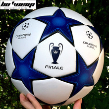 2017 High quality Champions League Official size 5 Football ball material TPU Professional competition train durable soccer ball