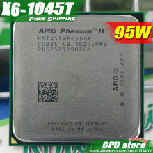 AMD Phenom II  X6 1045T CPU Processor Six-Core (2.7Ghz/ 6M /95W ) Socket AM3 AM2+ 938 pin (working 100% Free Shipping)sell 1055T