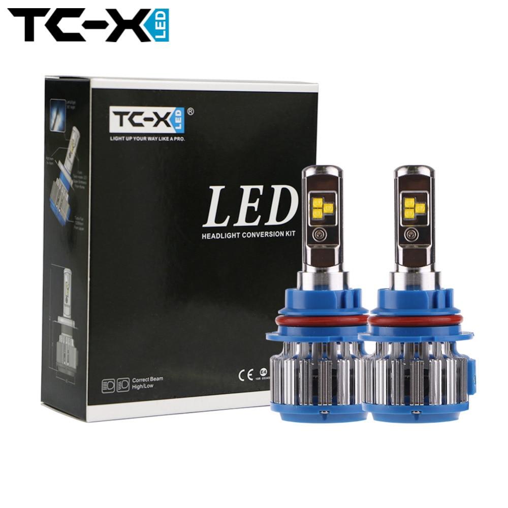 TC-X Dual Beam LED Car Headlight HB1 9004 HB5 9007 High/Low Beam Auto Front Lights Kit Driving Lamp <br><br>Aliexpress
