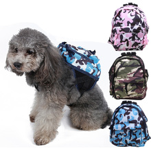 Useful Dog Backpack Pet Backpack Dog Backpack Teddy Dog Schoolbag VIP Bag Puppy L Size For Outside Bag Small Dog(China)