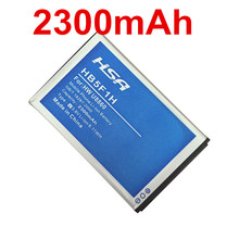 New 2300mAh HB5F1H Mobile Phone Battery For huawei Honor U8860 battery Glory M886 Mercury Cricket Phone Battery(China)