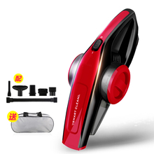 2017 Real Hot Sale Powerful Portable Connect wih Car Mini Handheld Vacuum Cleaner Light Dust Collector DC 12V 70W Red(China)
