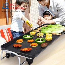 household oven grill electric baking pan Korean Teppanyaki smoke-free non stick pot barbecue machine FREE SHIPPING