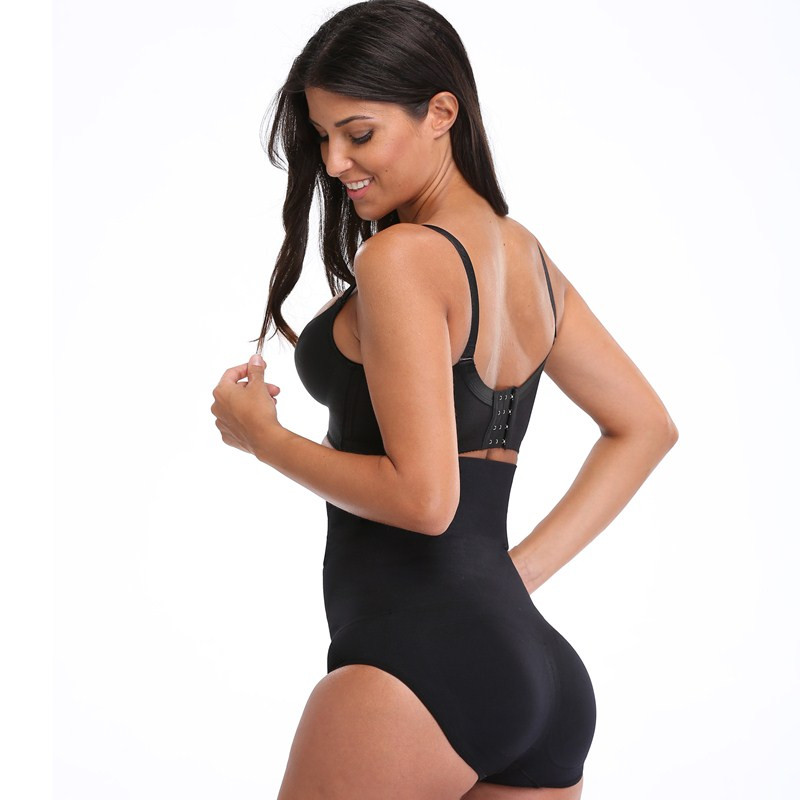 NINGMI Women Paded Hip Enhancer Butt Lifter Waist Trainer Shapewear Wedding Body Modeling Tummy Control Panties Slimming Shaper 2