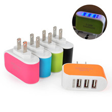 Dual US Standard Travel Charger Adapter Safe Home Plug Wall Charger For iPhone 5 SE 6 6s Huawei Samsung Xiaomi US Standard