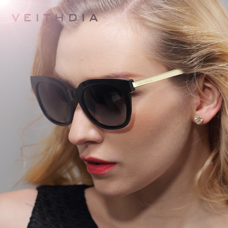 VEITHDIA TR90 Womens Sun glasses Polarized Mirror Lens Luxury Ladies Designer Driving Sunglasses Eyewear For Women 8025<br><br>Aliexpress
