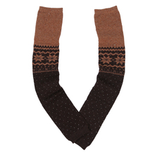 BFYL Women Snowflake Leg Warmers Socks (Coffee)