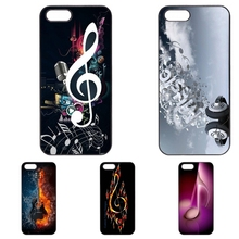 Nice Musical Notes Musical phone case for Huawei P8 Lite P9 Lite P9 Plus 3C Honor 6 7 8 5C Ascend P6 P7 Mate 7 8