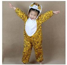 Children Kids Girl Boy Cartoon Animals Costumes Performance Clothes Suit Tiger Children's Day Halloween Costumes Jumpsuit C22964