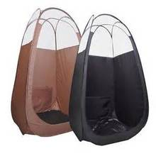 Brown/Black Pop Up Airbrush Sunless Tanning Tent Booth Clear Top/top quality popular in European & American market(China)