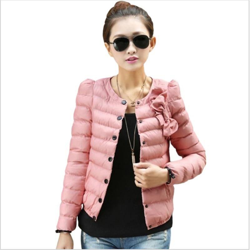 Women 4 Colors Womens Fashion Coat 2017 Winter Coat Winter Jacket Coat Lady Slim O-Neck Plus Size XXLОдежда и ак�е��уары<br><br><br>Aliexpress