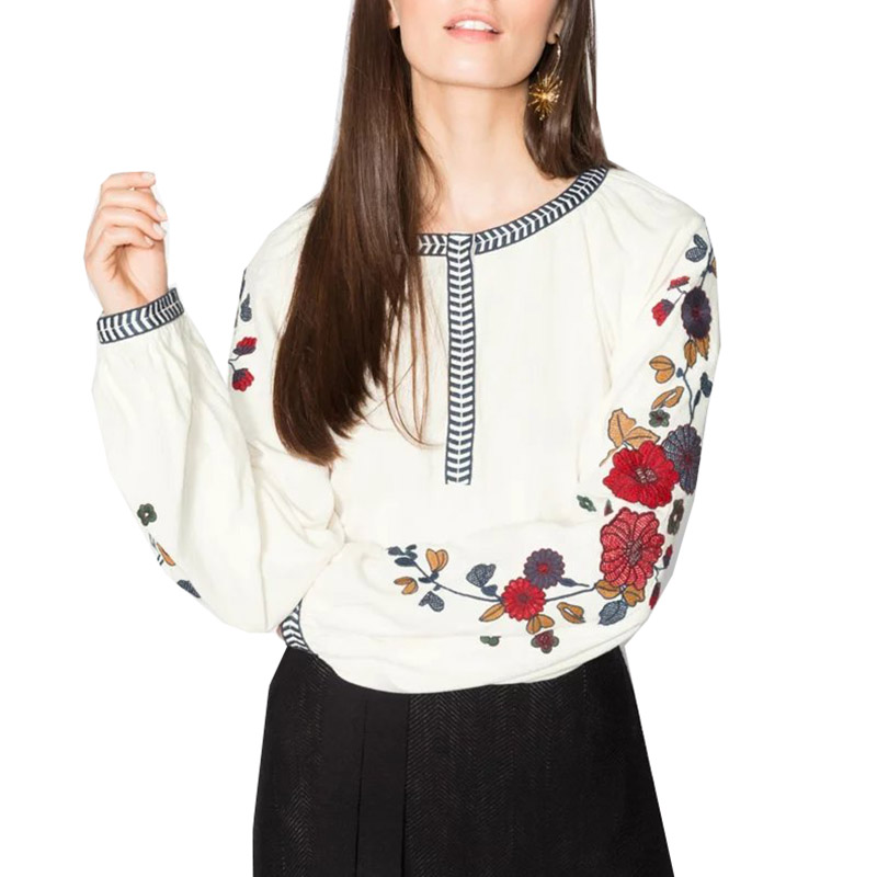 Блузки с вышивкой на алиэкспресс
