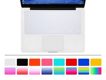 "HRH 100pcs Clear Silicone Keyboard Cover Skin sticker for English French Spanish German UK/EU MacBook Pro air 13"" 15"" 17""(China)"