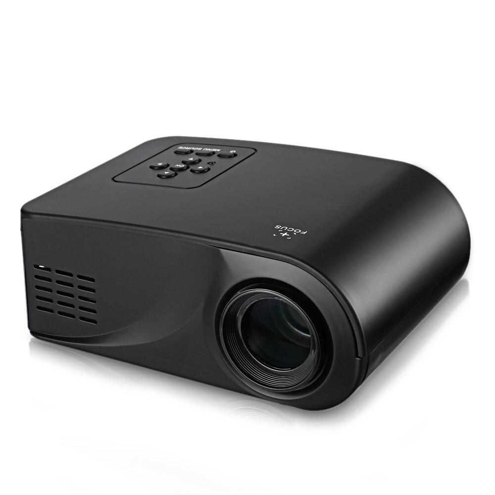 X6 Full HD 1080P Video Portable Mini LED Projector HDMI/AV/VGA/SD/USB Home Theater Beamer Multimedia Projector Mini Proyector<br><br>Aliexpress